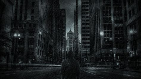wallpaper black rain night rainy city wallpapers and images wallpapers