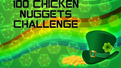 100 chicken nugget challenge 100 chicken nuggets challenge