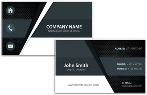 Visiting Card Templates Png by Business Card Designing Software Create Unique Personal