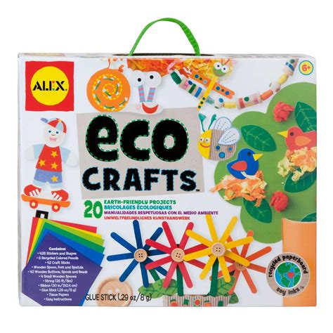 kid craft kits alex toys craft eco crafts alexbrands