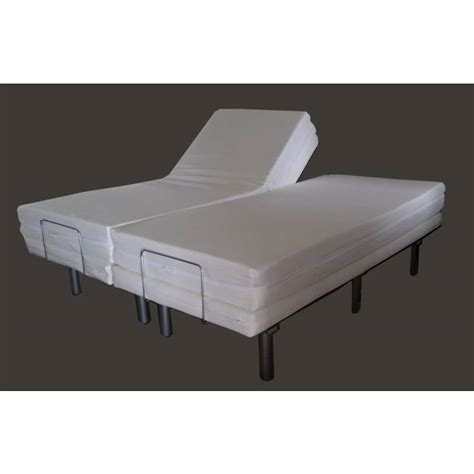 queen split adjustable bed electric bed frame massage adjustable split queen buy