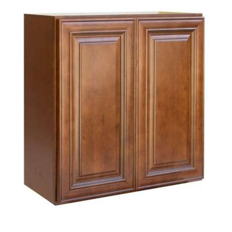 kitchen cabinets doors home depot lakewood cabinets 30x30x12 in all wood wall kitchen cabinet with double doors in charleston