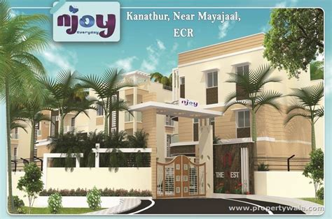 appartment in chennai 2 bedroom apartment flat for sale in nest njoy kanathur