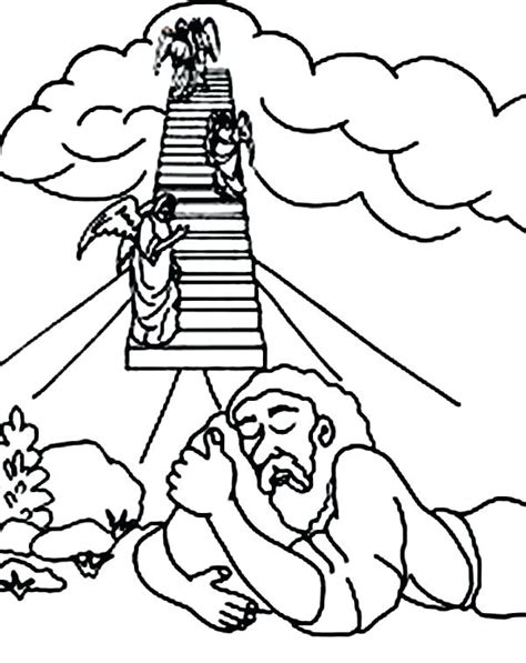 jacob  esau coloring pages printable  getcolorings