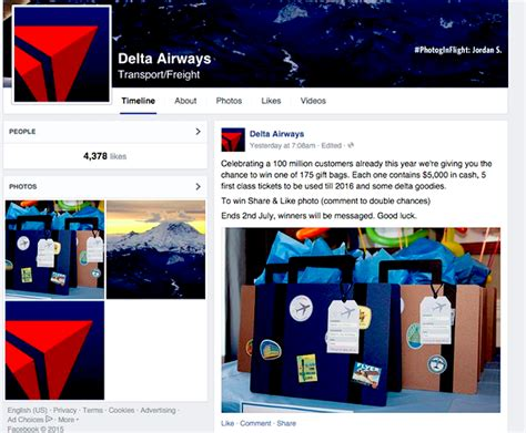 Delta Ticket Giveaway - delta airlines fake giveaway went viral on facebook business insider