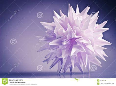 Virus Origami - origami kusudama virus royalty free stock images image