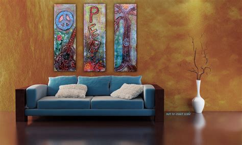 art behind couch peace paintings heart of art blog