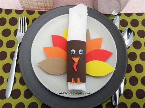 printable thanksgiving napkin ring craft turkey napkin rings turkeytablescapes while he was napping