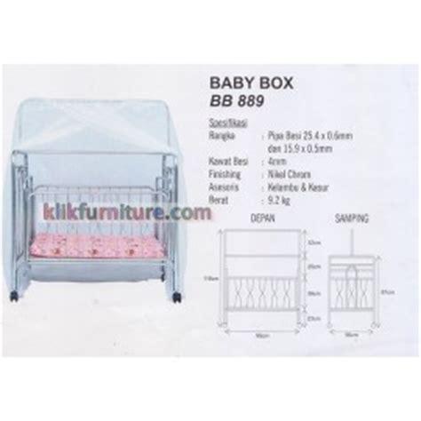 Ranjang Besi Bayi baby box ranjang tempat tidur bayi klikfurniture