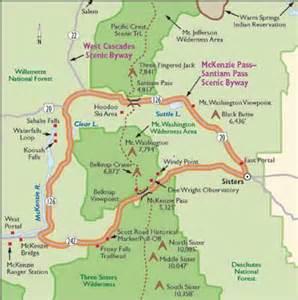 oregon scenic drives the santiam pass scenic