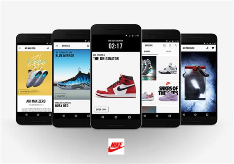 sneaker news app nike snkrs app gets major updates now available on