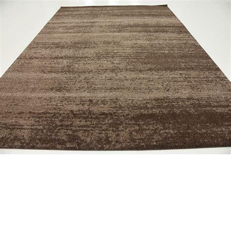 rug pile modern plain rugs soft thin pile area carpet brown 9 x 12 mar rug ebay
