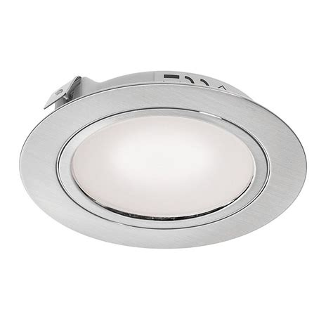 Recessed Led Cabinet Lighting by Stainless Steel Led Recessed Cabinet Light Dlk Ss Ww