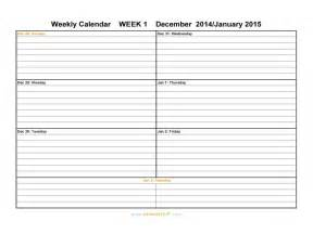 2016 free weekly calendar templates helloalive