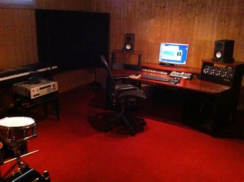omnirax presto 4 studio desk mahogany hostgarcia
