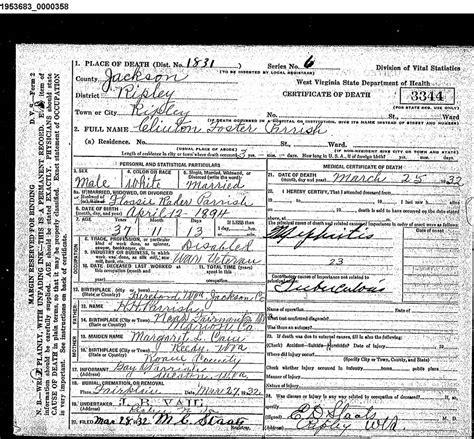 Wv Vital Records West Virginia Cemetery Preservation Association Fairplain A K A Shinn Cemetery