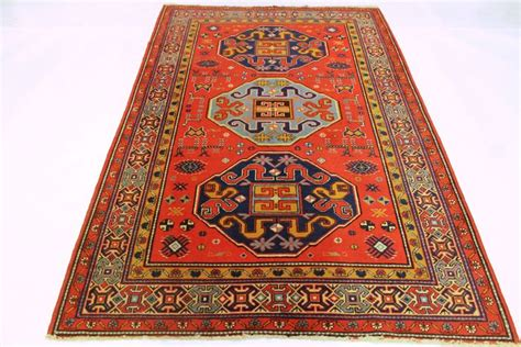 Beautiful Antique Hand Knotted Orient Rug Clouds Band Rugs Band