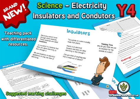 primary science electricity electrical conductors and insulators ks2 28 images