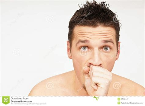 has a cough has a cough royalty free stock photography image 17195147