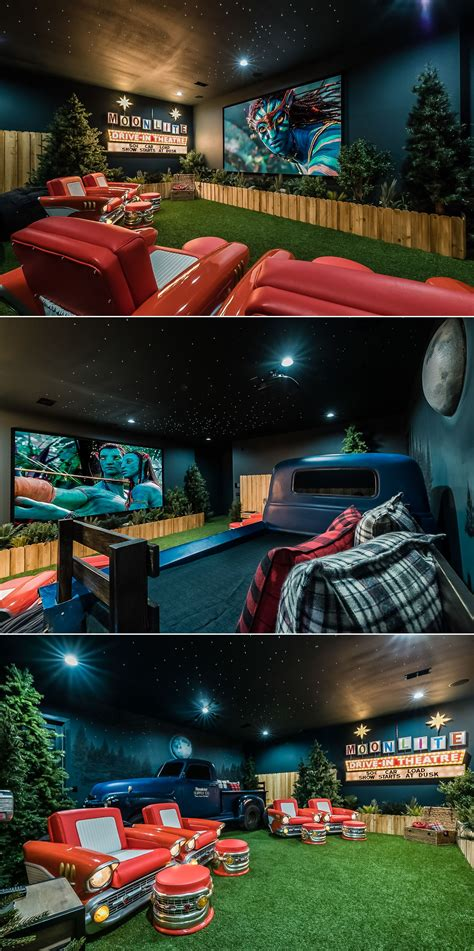 awesome drive  themed home theater   orlando vacation villa check   cool seats