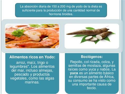 alimentos ricos en yodo para hipotiroidismo hipertiroidismo e hipotiroidismo