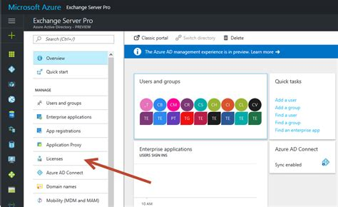 Office 365 Portal Azure Simplifying Office 365 License With Azure Ad