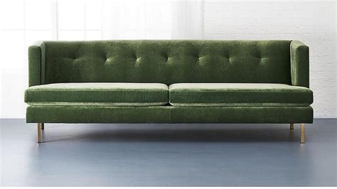 couch legs for sale green avec sofa with brass legs