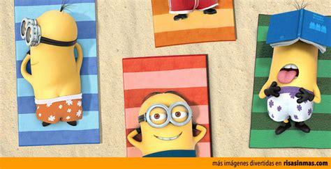 Imagenes Minions Verano | los minions de vacaciones en la playa