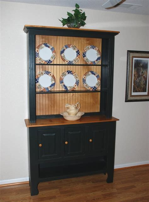 country pine painted hutch finewoodworking