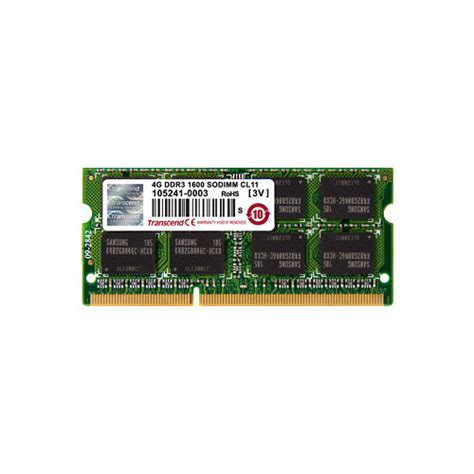 Upgrade Ram 4gb Ke 8gb transcend 8gb 2x4gb so dimm memory upgrade kit for notebook