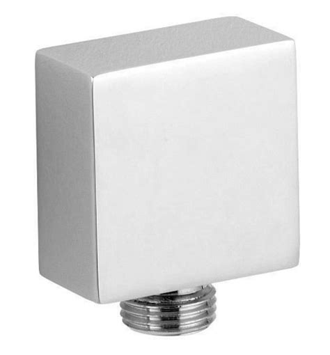 Ultra Chrome Plated Brass Square Outlet Elbow A3245 At Chrome Plated Brass Bathroom Accessories