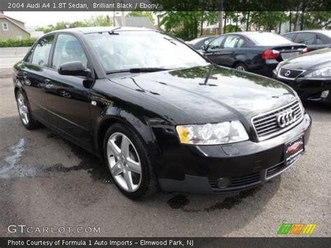 2004 black audi a4 brilliant black 2004 audi a4 1 8t sedan interior