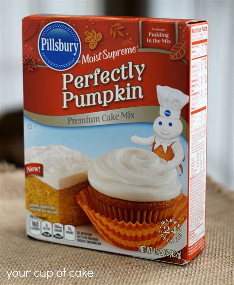 cake mix pumpkin spice latte cupcakes your cup of cake