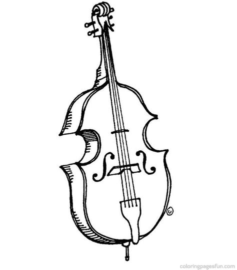musical instruments coloring pages printable musical instrument coloring pages print out az coloring