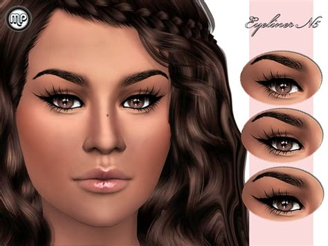 mod the sims acute eyeliner 10 styles mp eyeliner n5 at btb sims martyp 187 sims 4 updates