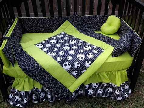 nightmare before christmas bed sheets new crib bedding set m w jack nightmare before christmas