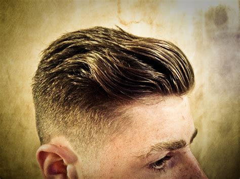 how to blend a lads a hair lads side slick combover gladstone gentleman s grooming