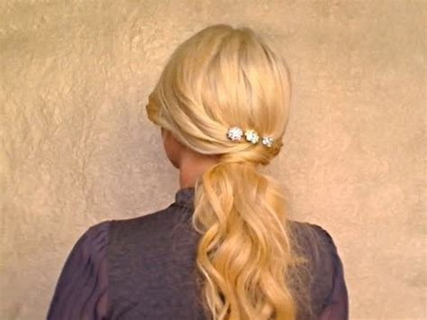 easy everyday hairstyles with ponytails easy ponytail hairstyle long hair tutorial for everyday