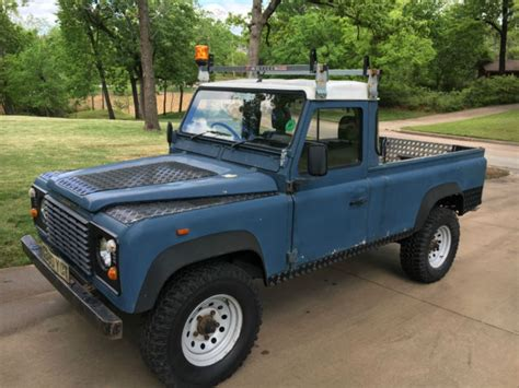 land rover 1990 1990 land rover defender 110 up for sale