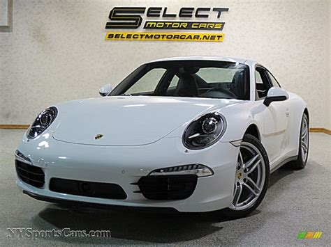 porsche metallic 2016 porsche 911 4 coupe in carrara white metallic