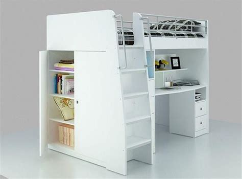 Bunk Bed King Single Loft Bed With Desk King Single 945 Ella S Room Loft Beds King And Desks