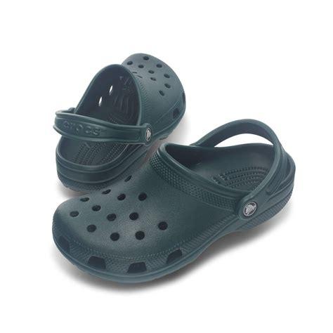 Crocs Slip On Original crocs classic shoe evergreen original crocs slip on shoe
