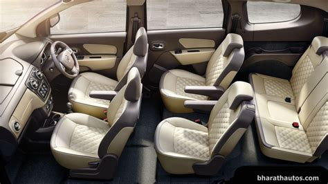 renault lodgy interior renault lodgy stepway launched at a premium of rs 60 000