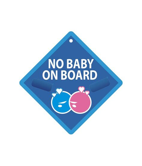 Sticker Mobil 018 Sticker On Board Sticker Baby On Board shopisky no baby on board bumper sticker buy shopisky no