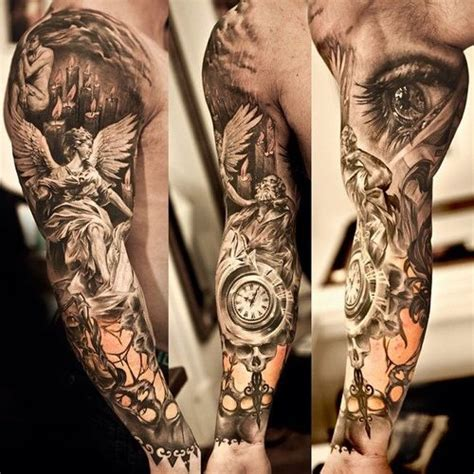 3d tattoo sleeve ideas 3d extreme full sleeve tattoo designs for men tattoo