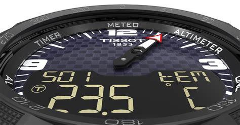tissot smart touch smartwatch mit solarzelle