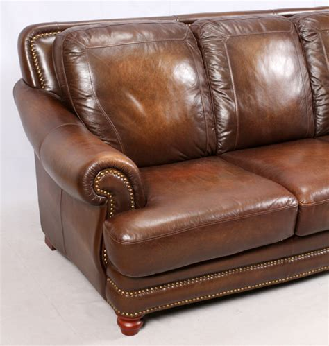 superb creation ltd leather couch modern leather 3 cushion sofa and settee