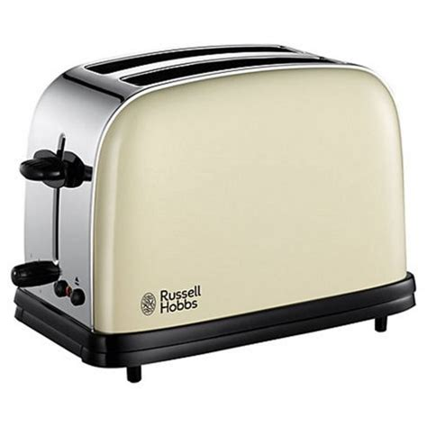 Russell Hobbs Toasters Buy Russell Hobbs Colours 2 Slice Toaster Cream From Our