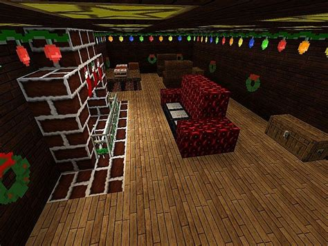 minecraft living room mod cozy house minecraft project