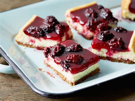 blackberry cheesecake squares most popular pin of the
